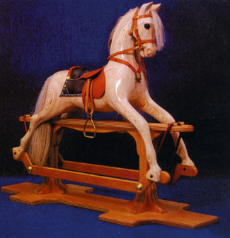 swinger rocking horse plan